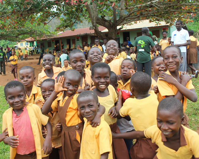 Save The Frogs Ghana Young Scholars Program