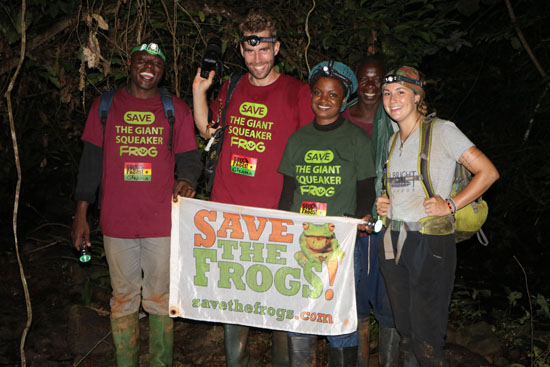 SAVE THE FROGS! Ghana Expedition