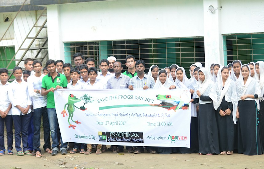 sylhet save the frogs day 2017 1