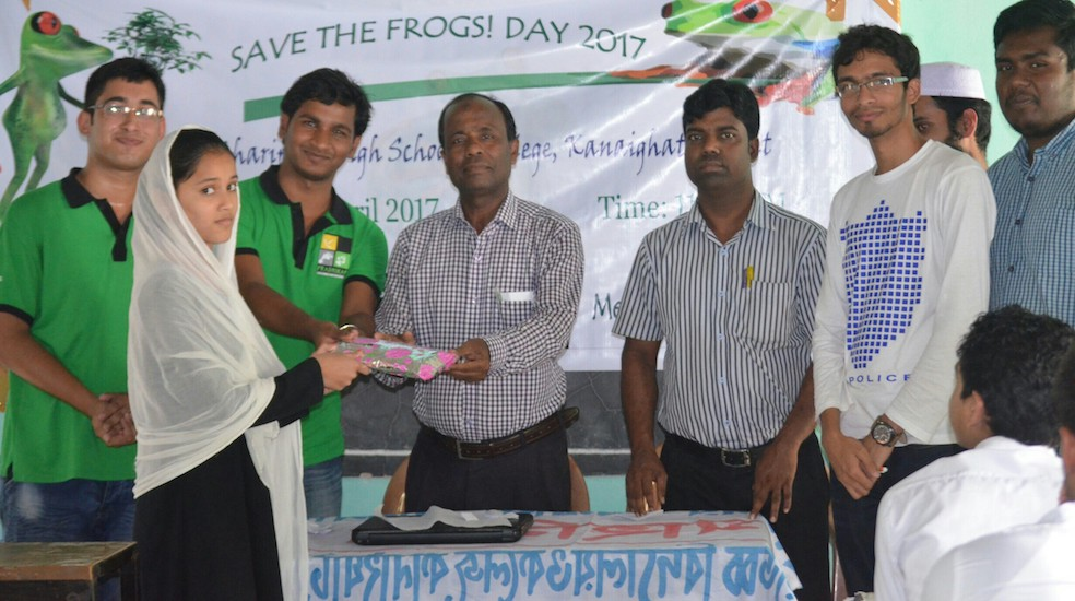 sylhet save the frogs day 2017 2