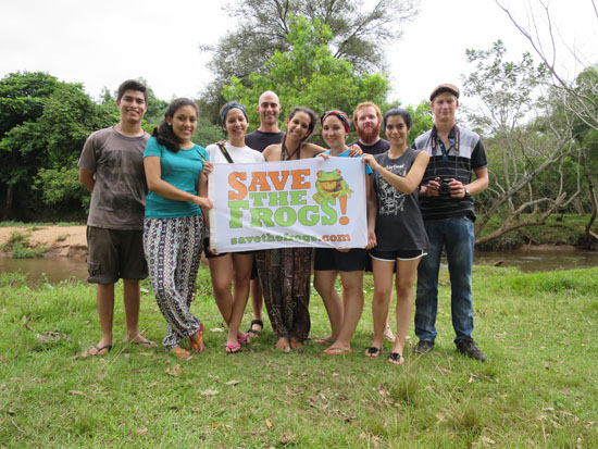save the frogs paraguay