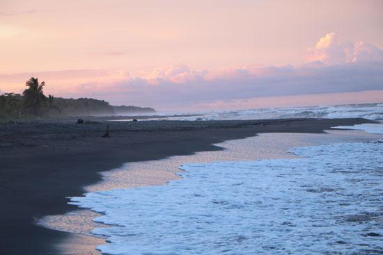 tortuguero beach sunset 4