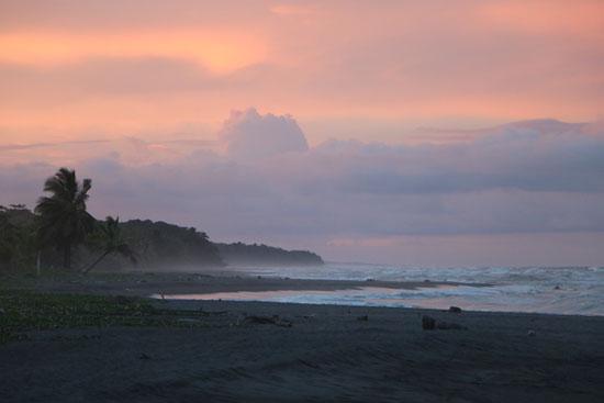 tortuguero beach sunset 6