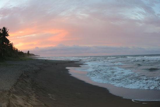 tortuguero beach sunset 7