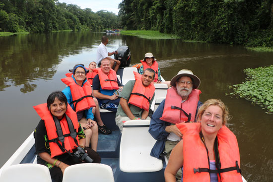 tortuguero boat canal group