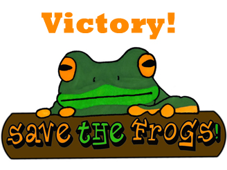 victory for the frogs amanda wilson