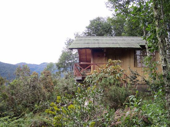 wayqecha cabin